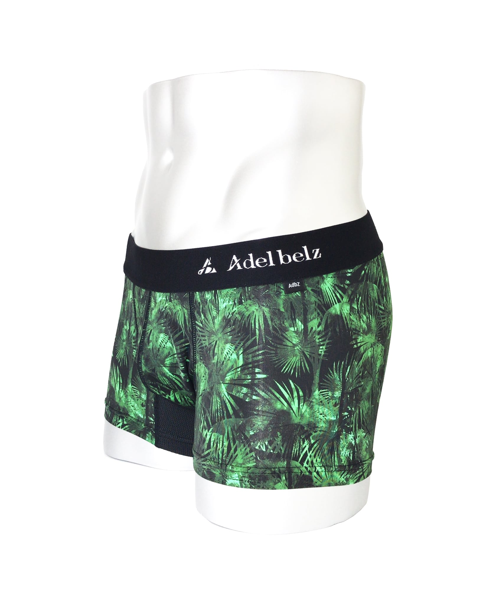 BOXER 男性下着 | 高級 アンダーウェア メンズ ボクサーパンツ SHINE PALM TREE GREEN | ブランドデザイン詳細画像2