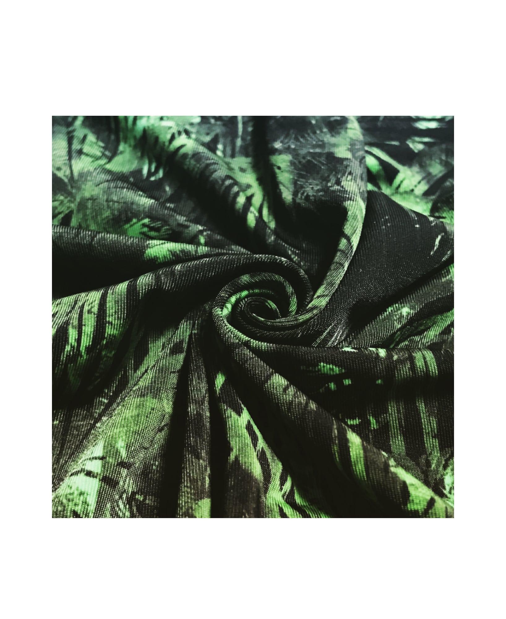 BOXER ボクサーパンツ 通販 | 高級 メンズ ボクサーパンツ SHINE PALM TREE GREEN | ナイロン 国産生地 詳細画像