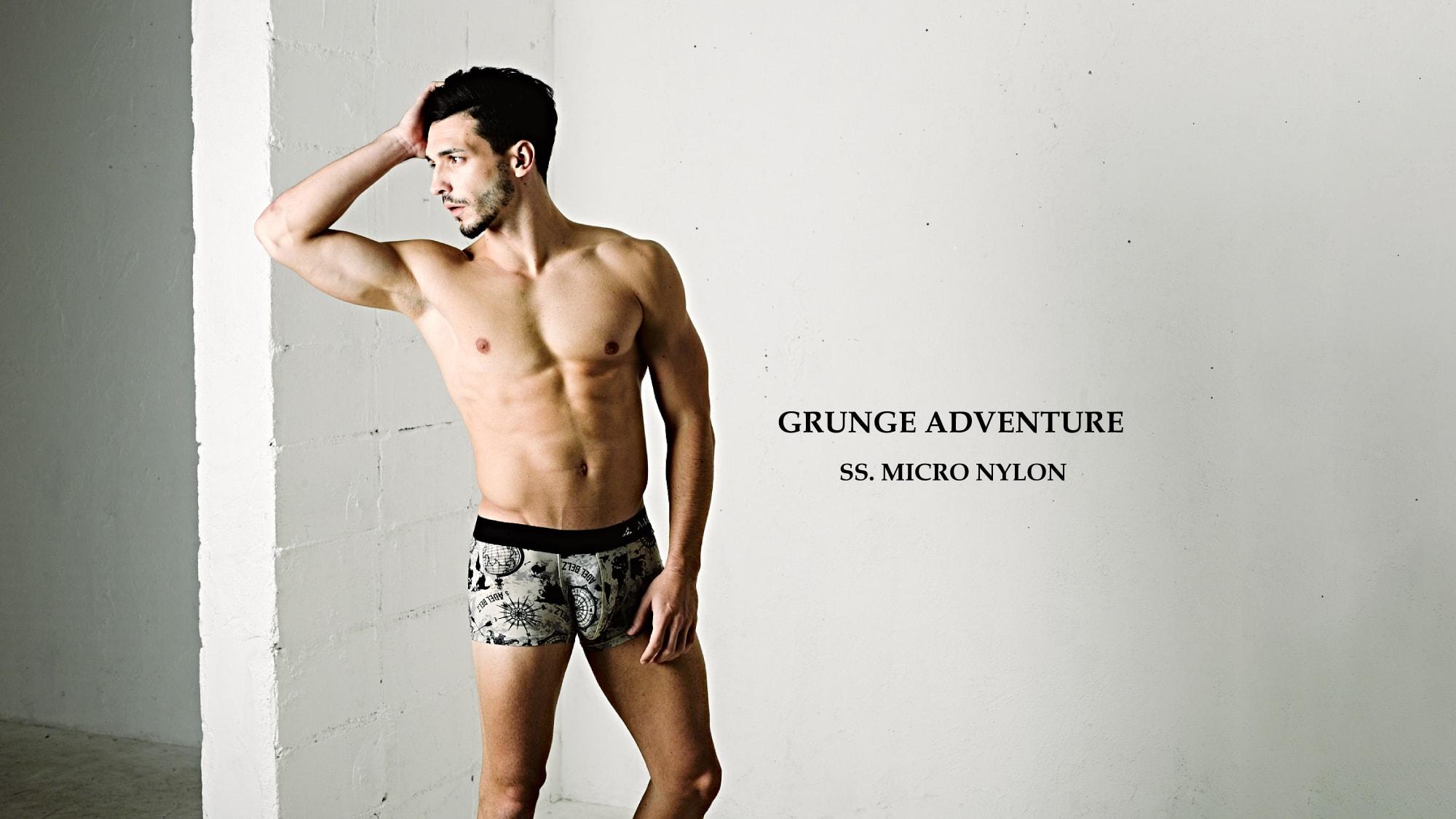 GRUNGE ADVENTURE | 男性下着 高級 ボクサーパンツ メンズ ブランド 日本製、Adelbelz(アデルベルツ)公式通販