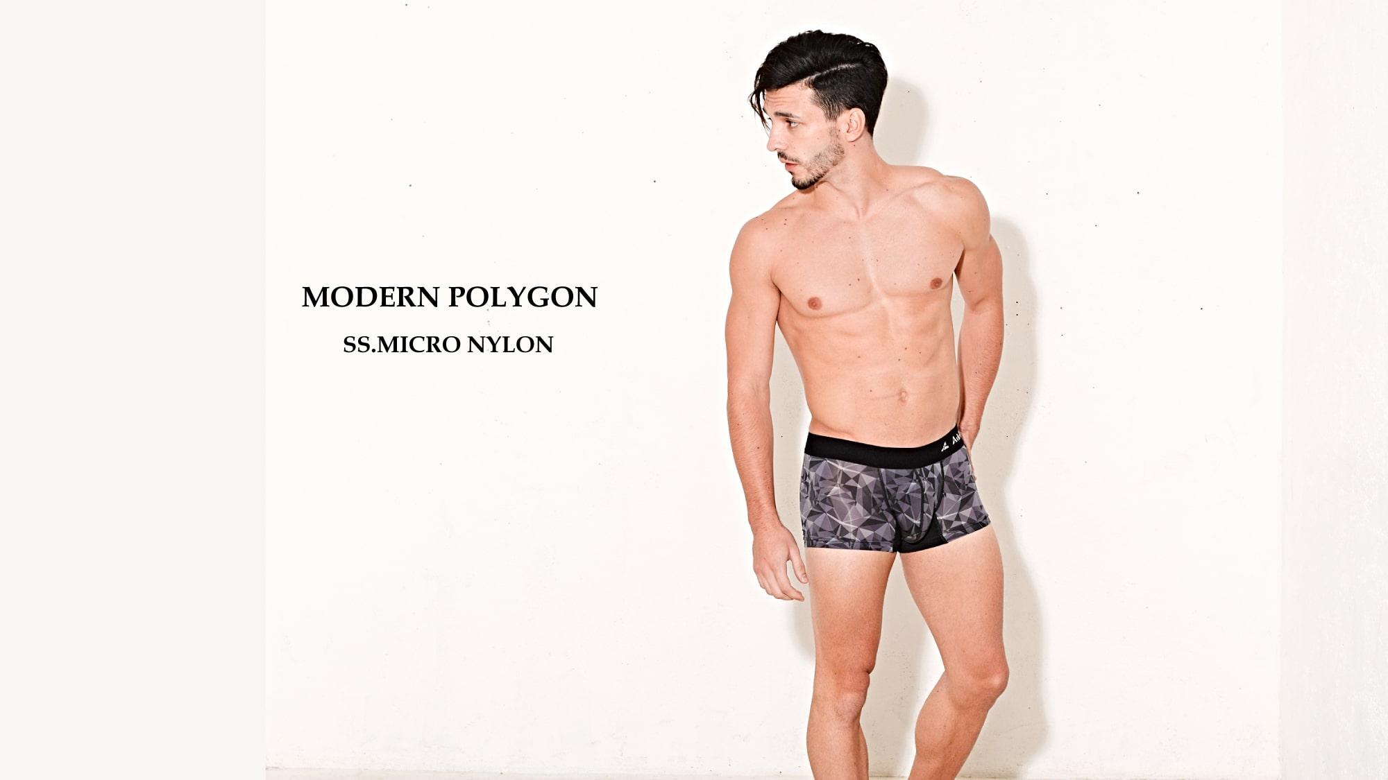 MODERN POLYGON | おしゃれでおすすめ 日本製 男性下着 高級メンズボクサーパンツブランド、Adelbelz(アデルベルツ)公式通販