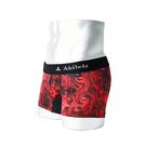 BOXER 男性下着 | おしゃれでセクシーな赤いスモーク柄 メンズ ボクサーパンツ RED SMOKE 赤煙 | ブランドデザイン詳細画像2