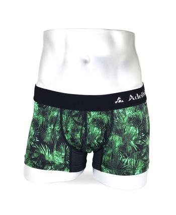 BOXER ボクサーパンツ 通販 | 高級ブランド メンズ 男性下着 SHINE PALM TREE GREEN | デザイン詳細画像