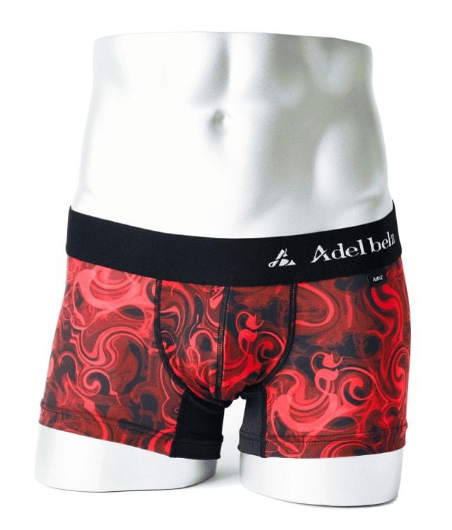 RED SMOKE 赤煙柄 | 高級メンズボクサーパンツブランド、Adelbelz(アデルベルツ)公式通販
